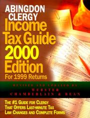 Cover of: Abingdon Clergy Income Tax Guide 2000