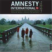 Cover of: Amnesty International: From the Republic of Conscience 2007 Wall Calendar