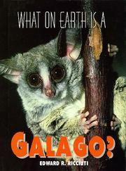 Cover of: What on earth is a galago?