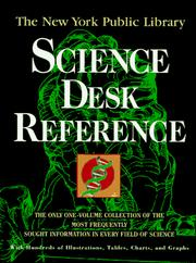 Cover of: The New York Public Library science desk reference