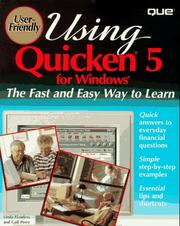 Cover of: Using Quicken 5 for Windows