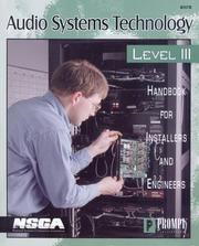 Cover of: Audio Systems Technology Level III