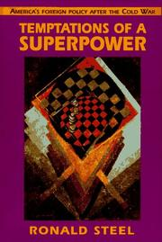 Cover of: Temptations of a superpower