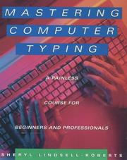 Cover of: Mastering computer typing
