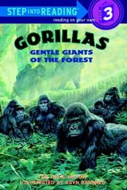 Cover of: Gorillas, gentle giants of the forest