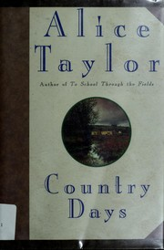 Cover of: Country days