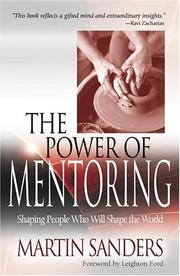 Cover of: The Power Of Mentoring