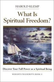 Cover of: What is spiritual freedom?