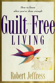 Cover of: Guilt-Free Living