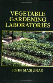 Cover of: Vegetable Gardening Laboratories