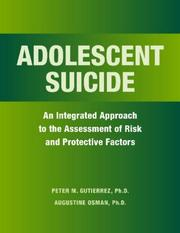 Cover of: Adolescent Suicide