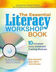 Cover of: The essential literacy workshop book