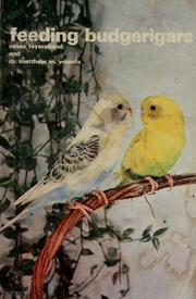 Cover of: Feeding Budgerigars