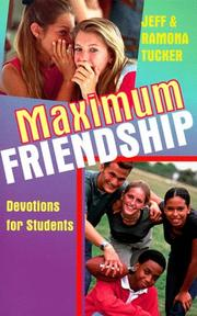 Cover of: Maximum Friendship