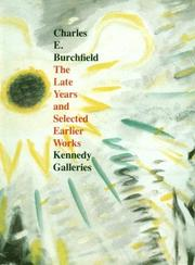 Cover of: Charles E. Burchfield