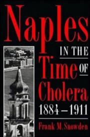 Cover of: Naples in the time of cholera, 1884-1911
