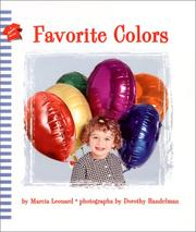 Cover of: Favorite Colors