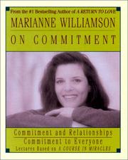 Cover of: Marianne Williamson On Commitment