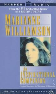 Cover of: Inspirational Companion From Marianne Williamson,An
