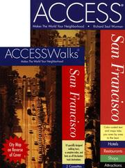 Cover of: ACCESSWalks San Francisco Book and Cassette