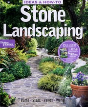 Cover of: Stone Landscaping (Ideas & How-to)