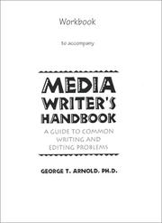 Cover of: Workbook for Media Writer's Handbook