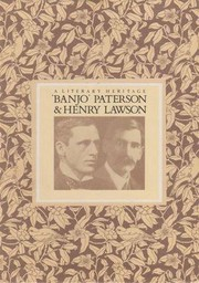 Cover of: A Literary Heritage - Banjo Paterson, Henry Lawson