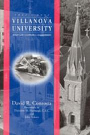 Cover of: Villanova University, 1842-1992: American--Catholic--Augustinian