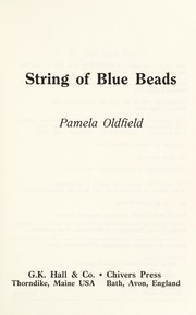 Cover of: String of blue beads