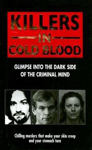 Cover of: Killers in Cold Blood