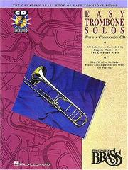 Cover of: Canadian Brass Book of Easy Trombone Solos