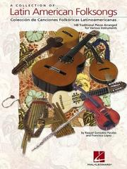 Cover of: A Collection of Latin American Folksongs