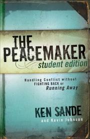 Cover of: The peacemaker student edition