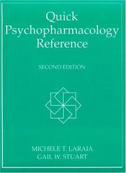Cover of: Quick Psychopharmacology Reference