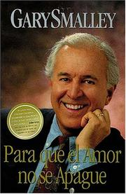 Cover of: Para Que El Amor No Se Apague