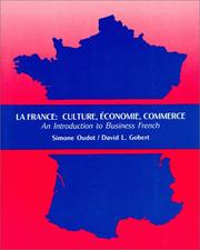 Cover of: La France : Culture, Economy, Commerce