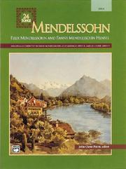 Cover of: Mendelssohn