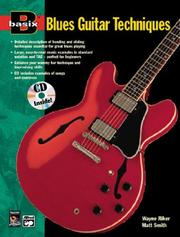 Cover of: Basix Blues Guitar Techniques (Basix[r])