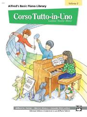 Cover of: Alfred's Basic Piano Library All-in-one Course Book 2 (Alfred's Basic Piano Library)