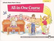 Cover of: Alfred's Basic All-In-One Course For Children - Book 1