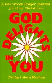Cover of: God delights in you