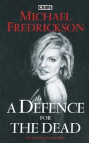 Cover of: A Defence for the Dead