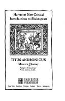 "Cover of: ""Titus Andronicus"""