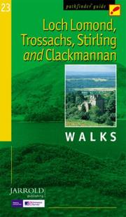 Cover of: Loch Lomond, Trossachs, Stirling and Clackmannan (Pathfinder Guide)