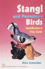 Cover of: Stangl and Pennsbury birds