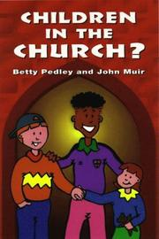Cover of: Children in the Church?