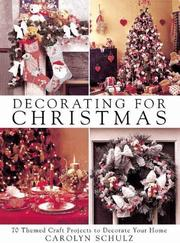 Cover of: Decorating for Christmas