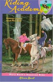 Cover of: Mary Beth's haunted ride