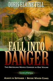 Cover of: Fall into Danger: Seasons of Intrigue : Always in September
