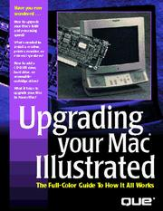 Cover of: Upgrading your Mac illustrated